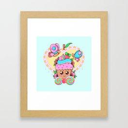 A Little Joy Framed Art Print