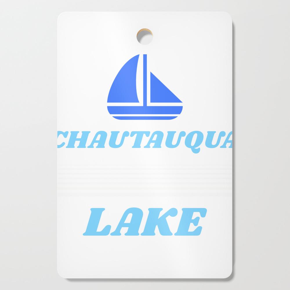 Chautauqua Lake Ny Prints, Chautauqua Lake Ny Designs Graphic Cutting Board by fastlifefullthrottle