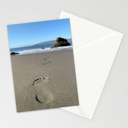 One Step at a Time, A Beach Walk. Stationery Cards