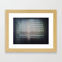 There's a light #04 Framed Art Print