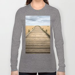 Beach Walkway Long Sleeve T-shirt
