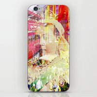 england iPhone & iPod Skins featuring Old England by Ganech joe