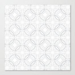 Rondo Grey Canvas Print