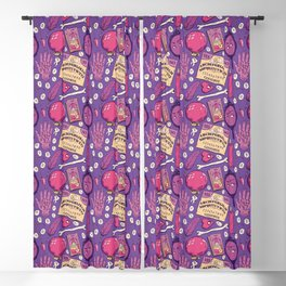 Divination in Fuchsia Blackout Curtain