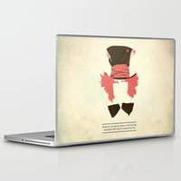 mad hatter Laptop & iPad Skins featuring Mad Hatter by TurtleGirl