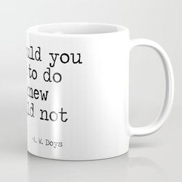 What would you attempt Coffee Mug