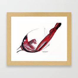 Wild Wine Framed Art Print