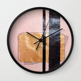 Golden Opportunity Wall Clock