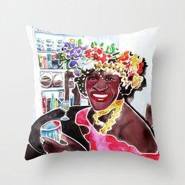 MARSHA P. JOHNSON  Throw Pillow
