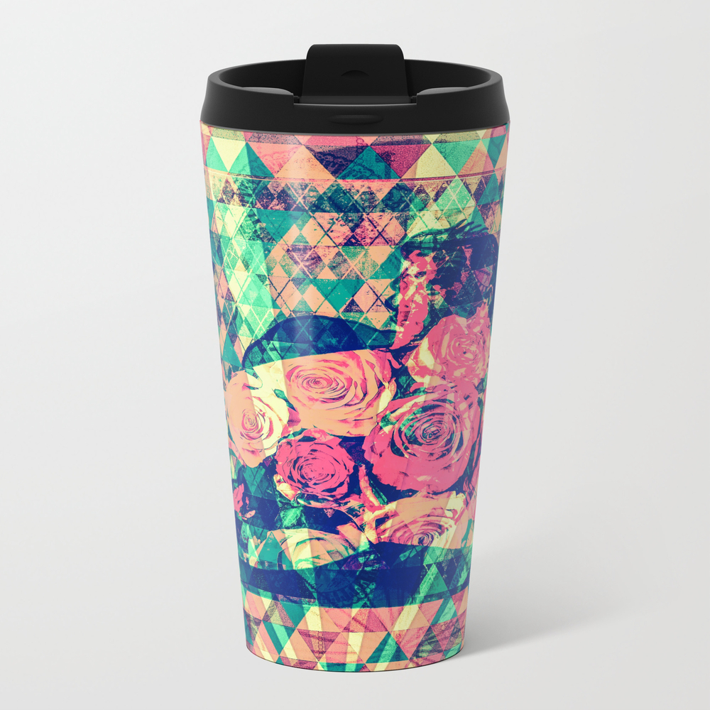California Drama Metal Travel Mug by Attic_salt MTM8872027