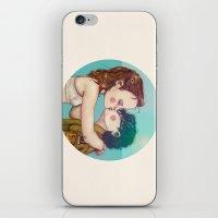 moonrise kingdom iPhone & iPod Skins featuring Moonrise Kingdom by Maripili