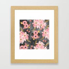 Night Meadow Framed Art Print