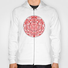Illusionary Daisy (Red) Hoody