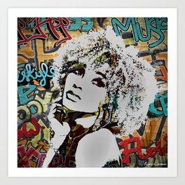 Urban Allure Graffiti Art Art Print