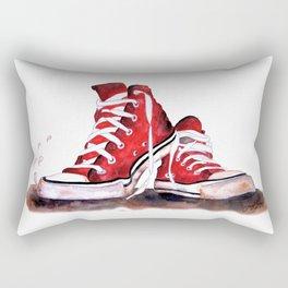 Red Shoes Rectangular Pillow
