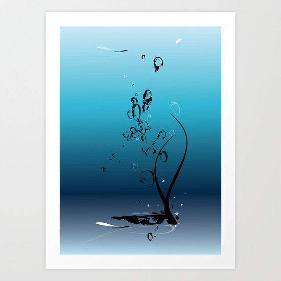 Fluid Inspiration Art Print