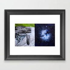 from The Long View Into Space Framed Art Print