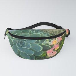 Succulent Garden Fanny Pack