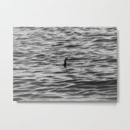 Loch Ness Monster Metal Print