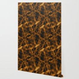 Gold fantasy pattern Wallpaper