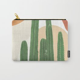 Abstract Cactus I Carry-All Pouch