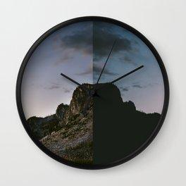 Minutes Apart Wall Clock