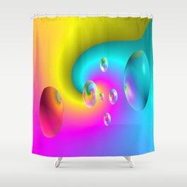 Paintballs Shower Curtain