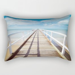 The Pier Rectangular Pillow