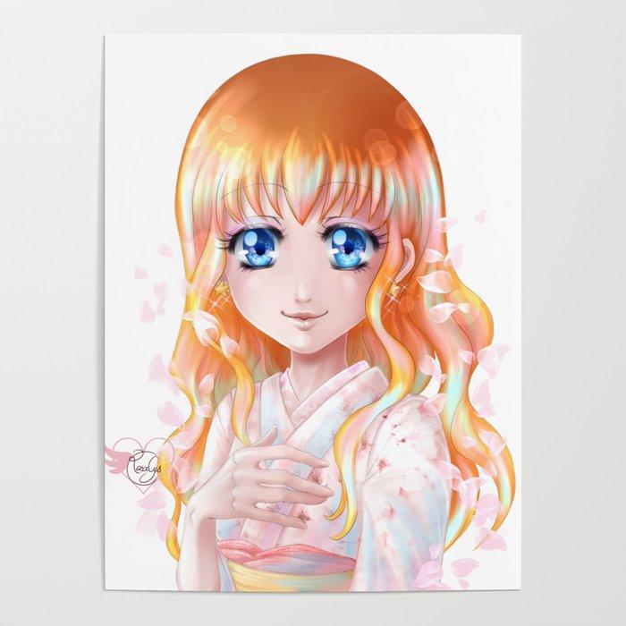 Hana floraison Poster