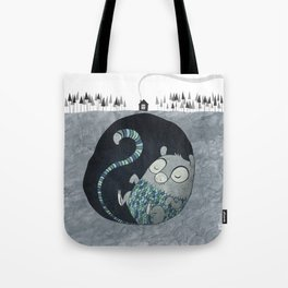 Let's bore for geothermal energy! Tote Bag