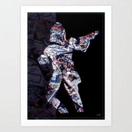 Cut StarWars Blister Collage 1 Art Print