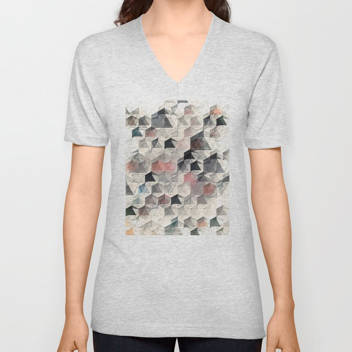 as the curtain falls (variant) Unisex V-Neck