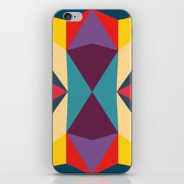 abstract geometric design for your creativity    iPhone Skin