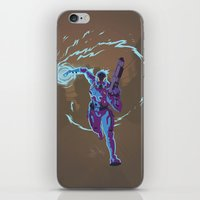 n7 iPhone & iPod Skins featuring Mass Effect 3- Vanguard Propaganda by Joe Byrne
