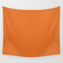 Russet Orange - Fashion Color Trend Fall/Winter 2018 Wall Tapestry