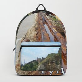 Tynemouth, England Backpack