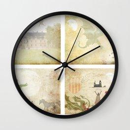 Sant Jordi  Wall Clock