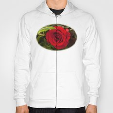 Red red rose Hoody