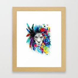 ART---LION Framed Art Print