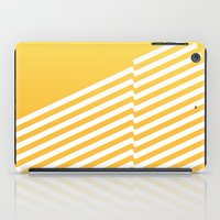 bands iPad Cases featuring Yellow Bands R. by blacknote