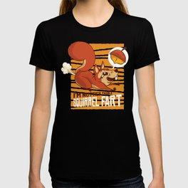 SQUIRREL FART FUNNY ART DESIGN T-shirt