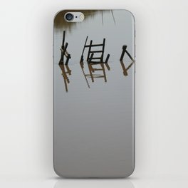 The river 's cryptic message iPhone Skin