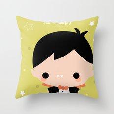 Kawaii Dracula Throw Pillow