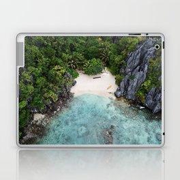 Isolated Beach Laptop & iPad Skin