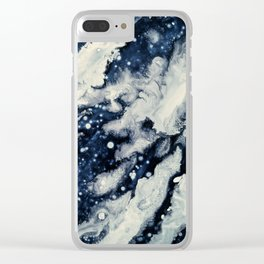 Under the snow Clear iPhone Case