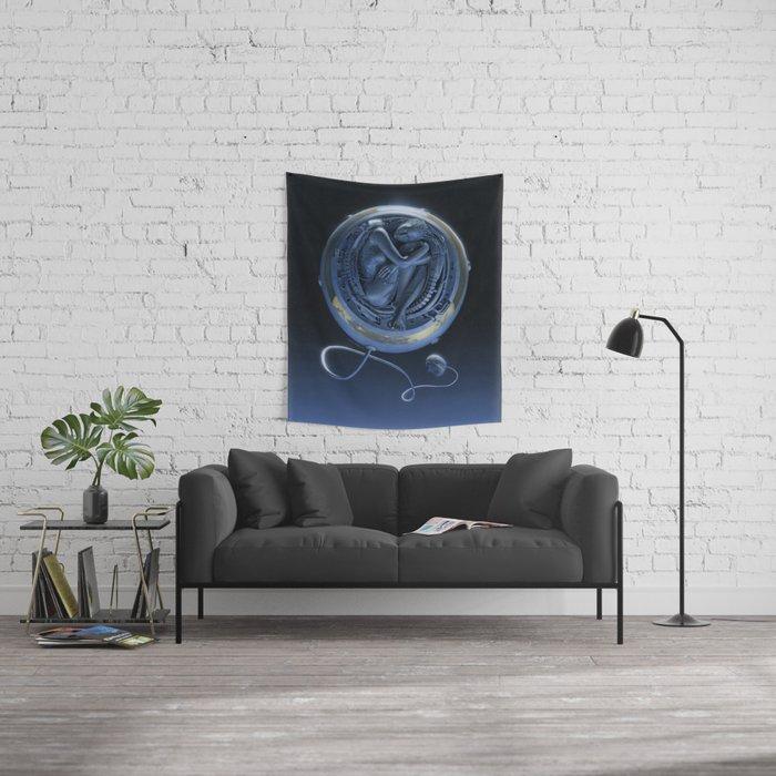 Orbiter II Wall Tapestry