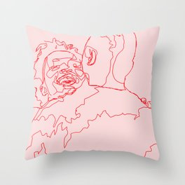 Meet Cute Throw Pillow