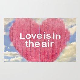 Love Concept Poster Design Rug