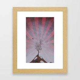 achilles was wrong Framed Art Print