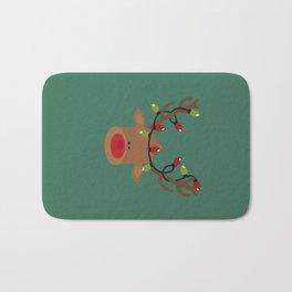 Rudolph the Reindeer Bath Mat